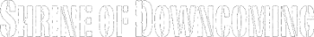 Shrine of Downcoming Logo