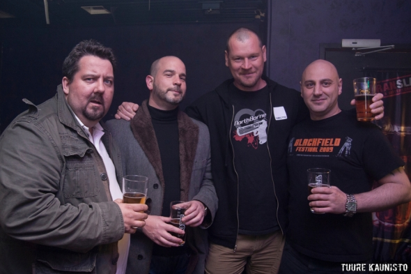 VNV Nation tour crew