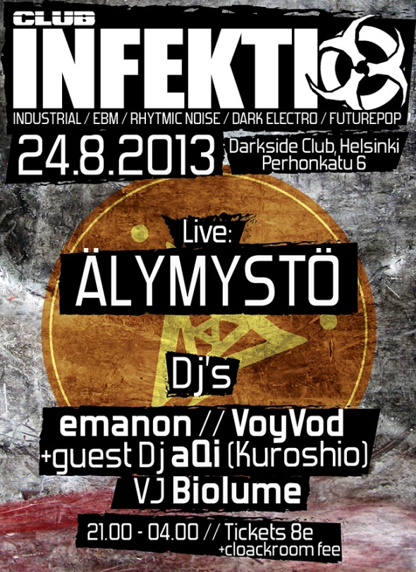 INFEKTIO 24.8.2013 Flyer