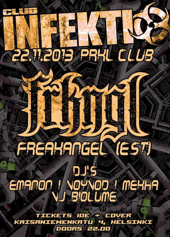 INFEKTIO Freakangel Flyer